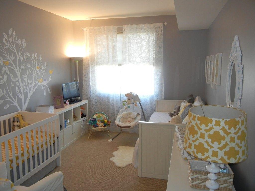 Quarto De Bebe Masculino Cinza E Branco Redival Com ~ Quarto Cinza E Preto E Quarto De Bebe Meninas