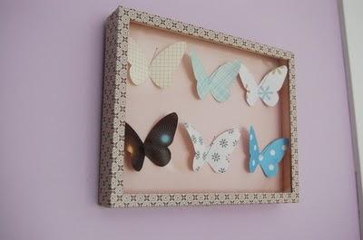 quadro-de-borboletas-de-papel