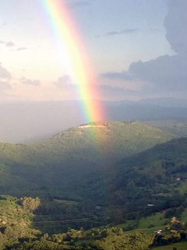 Vista do Vale do Quilombo. Vista por Gramado. Foto de Célia Schirmer
