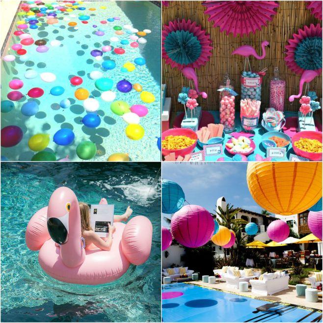 Tema de festa pool party festa na piscina for Piscina party